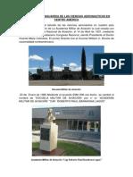 RESEÑA HISTORICA DE LA CREACION DE LA LICENCIATURA EN CIENCIAS AERONAUTICAS