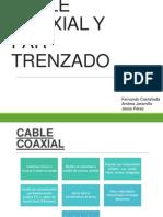 CABLE COAXIAL Y PAR TRENZADO