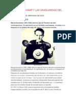 Marcel Duchamp y Las Vanguardias Del Siglo Xx