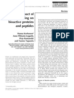 Impact of Processing on Bioactive Peptides