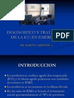 Diagnostico y Tratamiento de La Icc en Emergencia 2