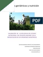 Sindromes geriatricos y nutricion - Dra. Soler.pdf