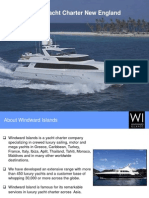 Luxury Yacht Charter New England - Windward Islands
