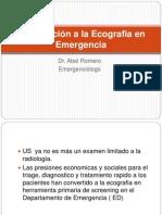 Introduccion a La Ecografia en Emergencia