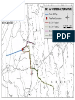 DPS 34.5kV Alternates Plan Map