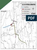 DPS 34.5kV Alternates Plan Map