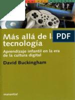 Buckingham, David - Mas Alla de La Tecnologia