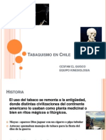 Tabaquismo en Chile