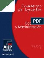 Cuaderno de Apuntes Economía y Administración INT 117