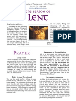 Our Lady of Perpetual Help Lenten Booklet 2014