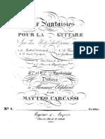 Mateo Carcassi - Op. 38 Fantasía sobre la ópera Le Dieu et la Bayadère