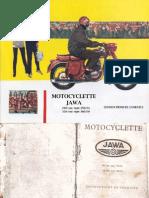 JAWA 360 Instructions de Conduite