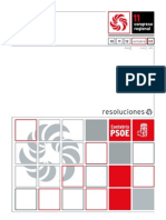 Resoluciones 11º Congreso PSC-PSOE