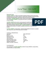 COLADET 190-NPF
