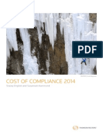 cost of compliancegrc00814 tr