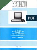 Amstrad CPC6128 Service Manual
