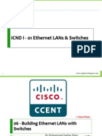 06 - Building Ethernet LANs With Switches
