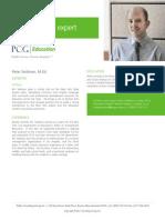Peter Seidman, M. Ed., PCG Education Subject Matter Expert