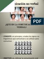 Comunicación no verbal expocicion