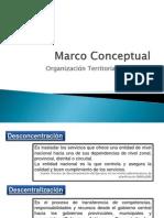 Marco Conceptual-Organización Territorial