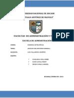 Analisis Del Entorno General de La Cooperativa de Ahorro y Credito Chiquinquira