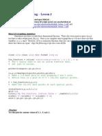 Matlab Lesson 3
