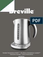 Breville BKE820XL Manual
