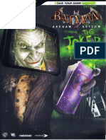 Batman Arkham Asylum - Bradygames Official Guide