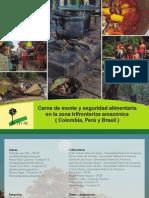 Carne de monte y seguridad alimentaria en la zona trifronteriza amazónica ( Colombia, Perú y Brasil )