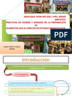 Norma Oficial Mexicana Nom-093-Ssa1-1994, Bienes y Servicios