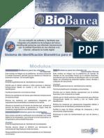 Brochure BioBanca