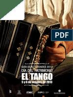 Guia Actividades 2013 Dia Del Patrimonio El Tango