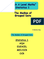 5 the Median of Grouped Data