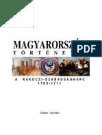 69892473 Magyarorszag Tortenete 11 a Rakoczi Szabadsagharc