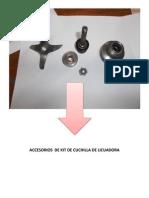 Accesorios de Kit de Cuchilla de Licuadora