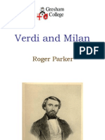 Verdi and Milan