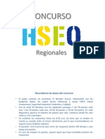 Concurso HSEQ Regionales