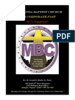 MBC 2014 Fasting Guide