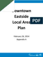 Downtown Eastside Draft Local Area Plan