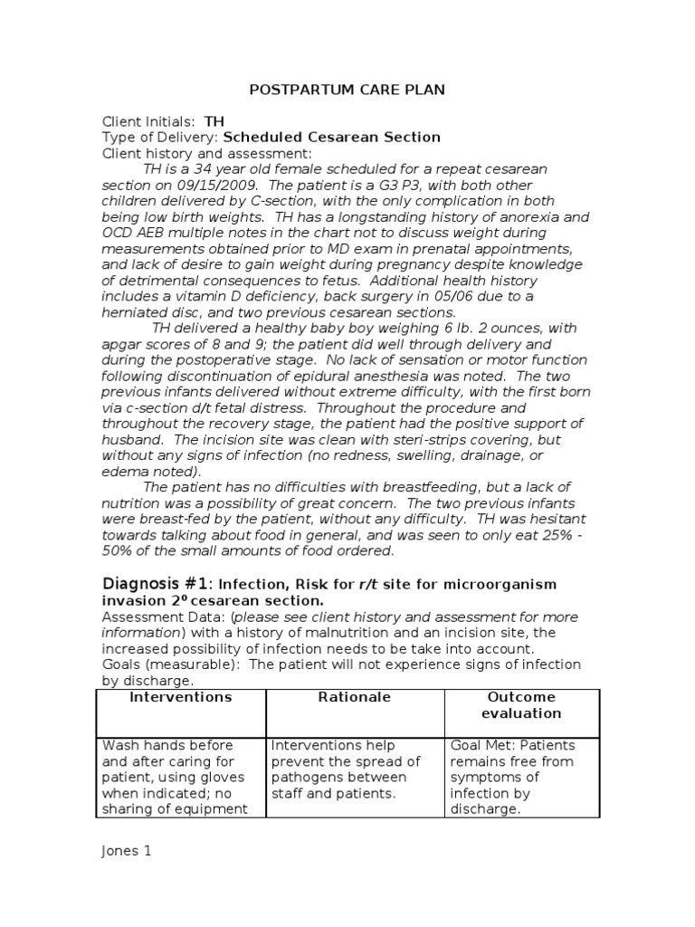 """postpartum care plan 2018-07-17 fatigue nursing care plan assessment subjective: """"i'm so tired, i need some rest,"""" as verbalized."""