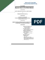 U.S. Dept. of Justice amicus brief in SBA List & COAST v. Driehaus