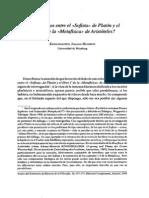 ¿Paralelismos entre el sofista de Platón y el libro VI de la metafísica de Aristóteles-Johann Heinrich Konigshausen