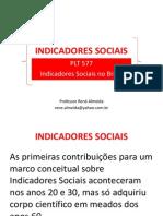 Aula Cap 1 - Indicadores Sociais
