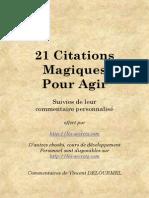 Citations Magique s