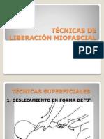 TÉCNICAS DE LIBERACIÓN MIOFASCIAL