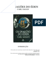 Os Dragoes Do Eden de Carl Sagan