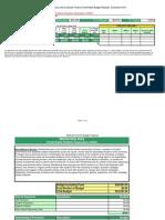 USSA Budget sheet