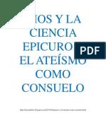 Dios y la Ciencia Epicuro y el Ateismo como consuelo.pdf