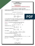 Unidad 2 Metodo de Separacion Variales