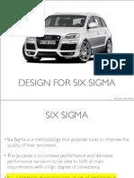 Design for Six Sigma Slides